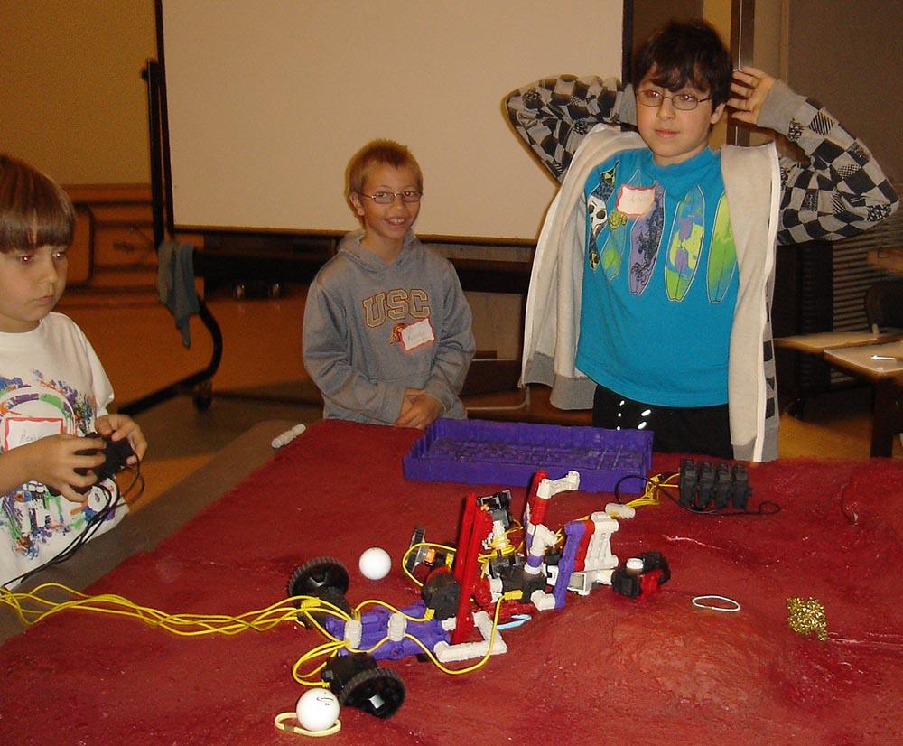 Robot STEM motorized robot